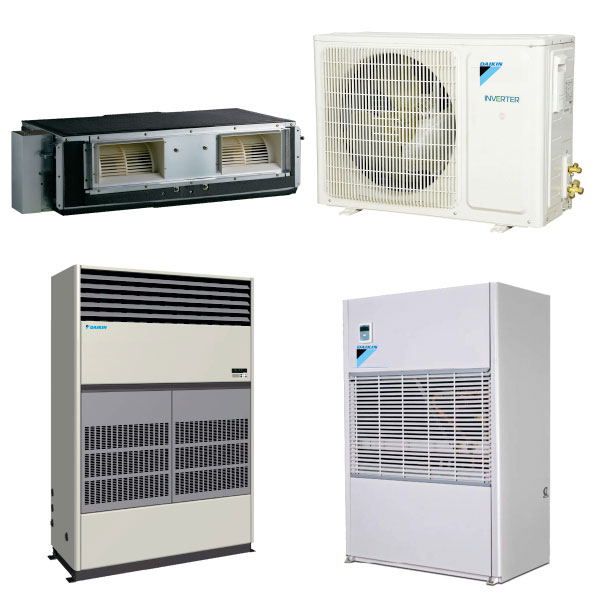 Air Cooled & Water Cooled Ductable & Package Air Conditioners